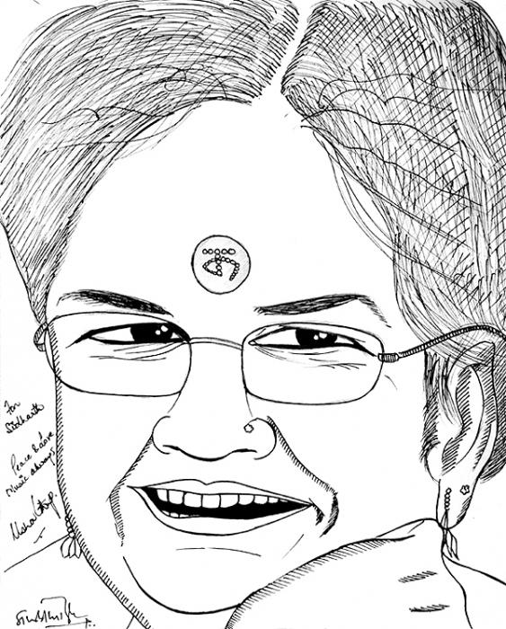 Usha Uthup by siddharthbiyer